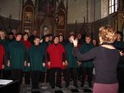Koncert Lanškrounského smíšeného sboru v kapli Sv. Anny - 28.9.2004