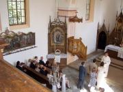 Svatba v kapli sv. Anny 15. 8. 2009